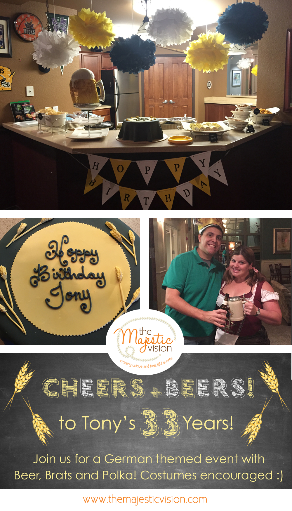 Excellent Beer Themed Birthday Party The Majestic Vision Download Free Architecture Designs Ogrambritishbridgeorg