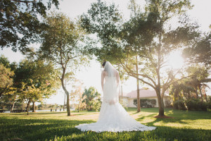 Stunning Lace Bridal Gown | The Majestic Vision Wedding Planning | Palm Beach, FL | www.themajesticvision.com | Robert Madrid Photography