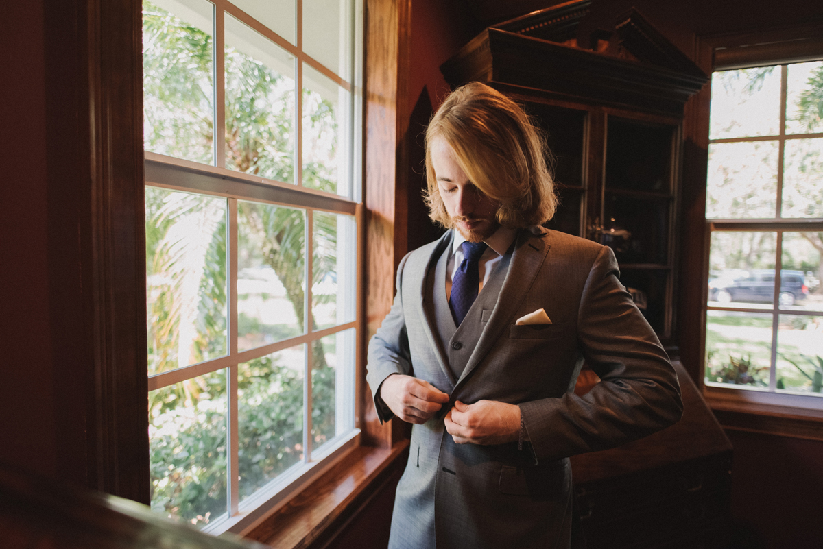 Handsome Groom Getting Ready   The Majestic Vision Wedding Planning   Palm Beach, FL   www.themajesticvision.com   Robert Madrid Photography