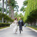 Elegant Running Couple Portrait at Grand Bay Club in Key Biscayne, FL thumbnail