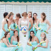 Elegant Bridesmaids with Beautiful Bride at Grand Bay Club in Key Biscayne, FL thumbnail