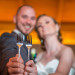 Elegant Wedding Cake Forks at Grand Bay Club in Key Biscayne, FL thumbnail