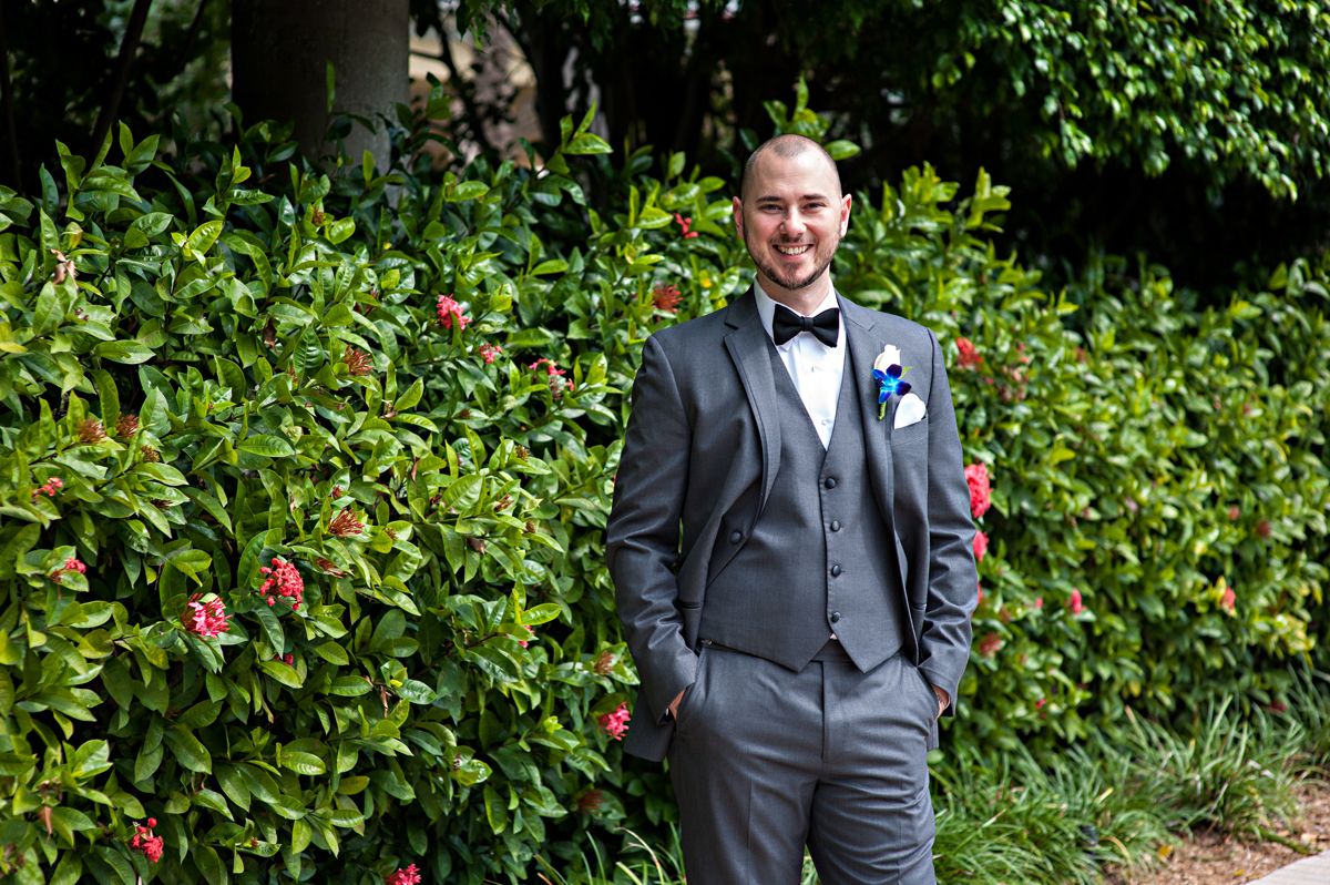 Handsome Groom Portrait | The Majestic Vision Wedding Planning | Grand Bay Club in Key Biscayne, FL | www.themajesticvision.com | Emindee Images