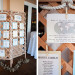 Whimsical Travel Escort Card Display at Grand Bay Club in Key Biscayne, FL thumbnail