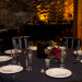 Romantic Wedding Reception Centerpiece at Iron Horse Hotel in Milwaukee, WI thumbnail