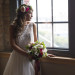 Romantic Bridal Portrait at Iron Horse Hotel in Milwaukee, WI thumbnail