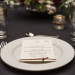 Romantic Wedding Reception Menu Card at Iron Horse Hotel in Milwaukee, WI thumbnail
