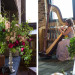 Romantic Wedding Ceremony with Bridesmaid Harpist at Iron Horse Hotel in Milwaukee, WI thumbnail
