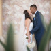 First Look Kiss at Wine Themed Wedding at The Addison Boca Raton in Boca Raton, FL thumbnail