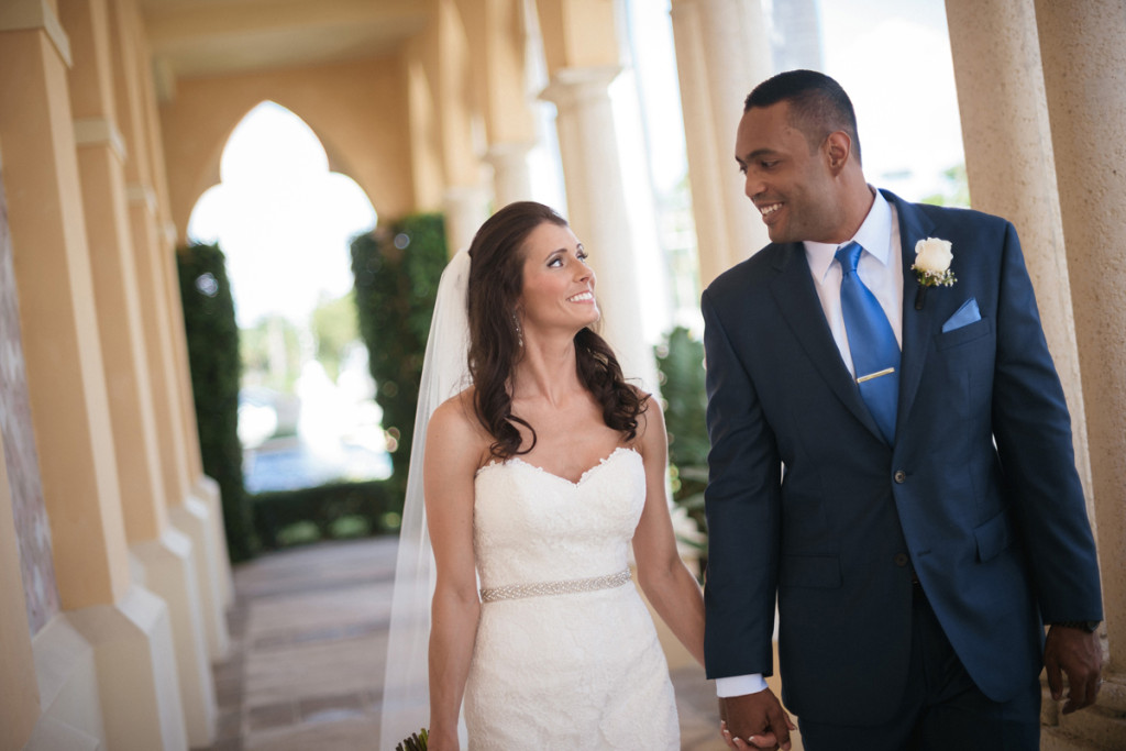Stunning Couple at Wine Themed Wedding | The Majestic Vision Wedding Planning | The Addison Boca Raton in Boca Raton, FL | www.themajesticvision.com | Robert Madrid Photography