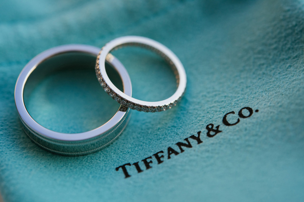 TIffany & Co Wedding Rings for Wine Themed Wedding   The Majestic Vision Wedding Planning   The Addison Boca Raton in Boca Raton, FL   www.themajesticvision.com   Robert Madrid Photography