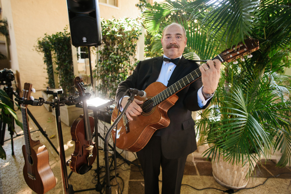 Wedding Ceremony Guitarist | The Majestic Vision Wedding Planning | The Addison Boca Raton in Boca Raton, FL | www.themajesticvision.com | Robert Madrid Photography