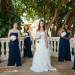 Navy Bridesmaids for Wine Themed Wedding at The Addison Boca Raton in Boca Raton, FL thumbnail