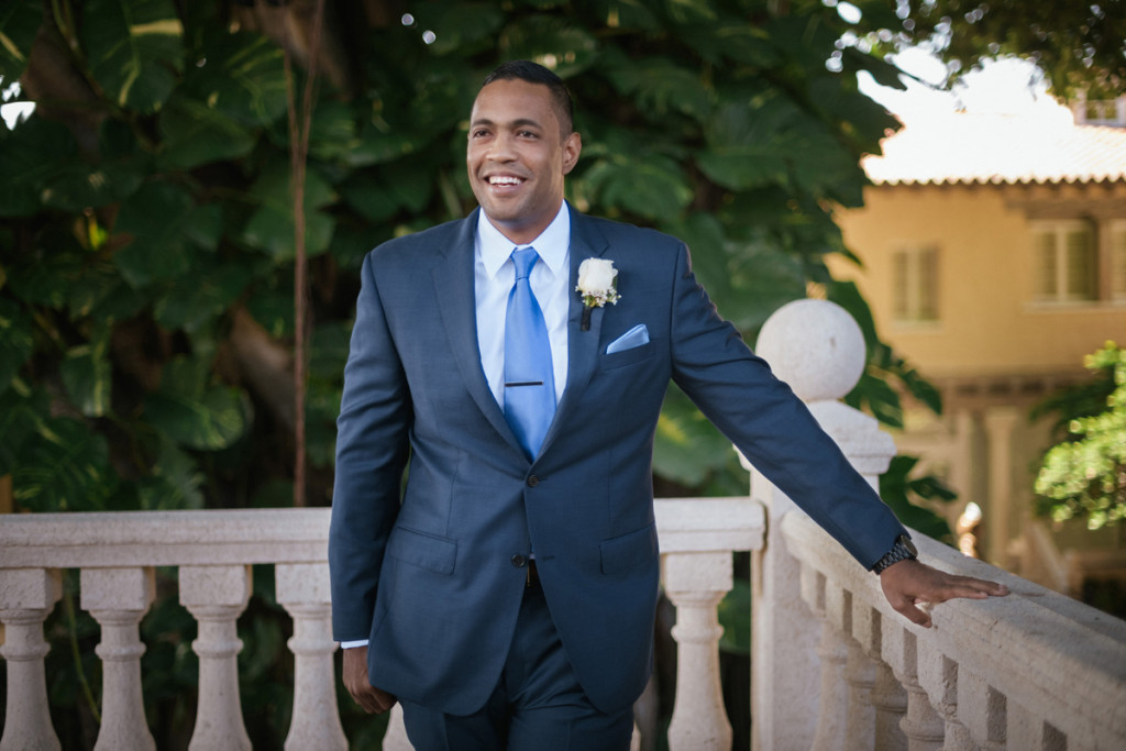 Handsome Groom for Wine Themed Wedding | The Majestic Vision Wedding Planning | The Addison Boca Raton in Boca Raton, FL | www.themajesticvision.com | Robert Madrid Photography