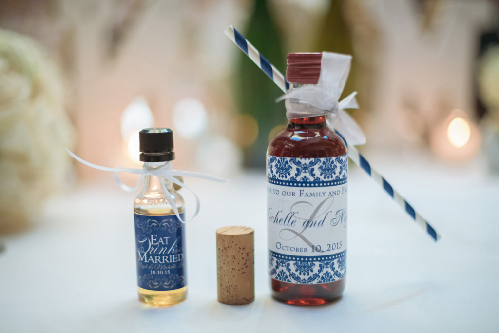 Wine Guest Favors for Wine Themed Wedding | The Majestic Vision Wedding Planning | The Addison Boca Raton in Boca Raton, FL | www.themajesticvision.com | Robert Madrid Photography