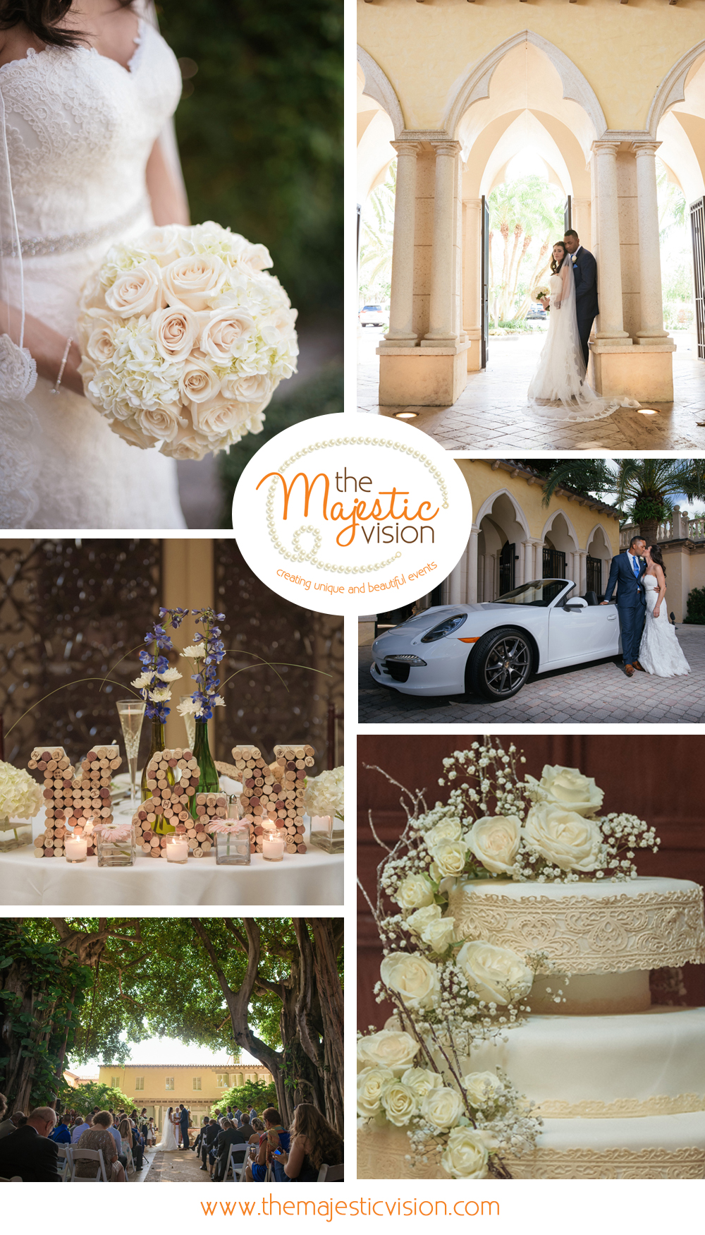 Wine Themed Wedding | The Majestic Vision Wedding Planning | The Addison Boca Raton in Boca Raton, FL | www.themajesticvision.com | Robert Madrid Photography
