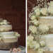 Lace and Rose Wedding Cake for Wine Themed Wedding at The Addison Boca Raton in Boca Raton, FL thumbnail