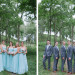 Serenity Blue Bridesmaid Dresses at Legend of Brandybrook in Milwaukee, WI thumbnail