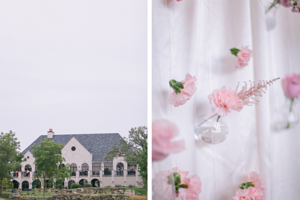 Rose Quartz and Serenity Blue Wedding | The Majestic Vision Wedding Planning | Legend of Brandybrook in Milwaukee, WI | www.themajesticvision.com | M Three Studio