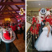 University of Wisconsin Marching Band at Rose Quartz and Serenity Blue Wedding at Legend of Brandybrook in Milwaukee, WI thumbnail