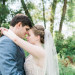 Stunning Couple at Romantic Mint and Serenity Blue Farm Wedding at Private Residence in Milwaukee, WI thumbnail