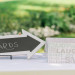 Card Display at Romantic Mint and Serenity Blue Farm Wedding at Private Residence in Milwaukee, WI thumbnail