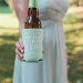 Guest Favor Koozies at Romantic Mint and Serenity Blue Farm Wedding at Private Residence in Milwaukee, WI thumbnail
