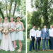 Lovely Wedding Party at Romantic Mint and Serenity Blue Farm Wedding at Private Residence in Milwaukee, WI thumbnail