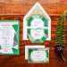 Gemstone Invitation Suite for Whimsical Emerald and Amethyst Wedding at The Wanderers Club in Wellington, FL thumbnail