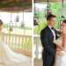 Lovely Couple at Whimsical Emerald and Amethyst Wedding Ceremony at The Wanderers Club in Wellington, FL thumbnail