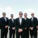 Groomsmen at Modern Black Tie Wedding at Briza on the Bay in Miami, FL thumbnail