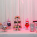 Dessert Display at Modern Black Tie Wedding at Briza on the Bay in Miami, FL thumbnail