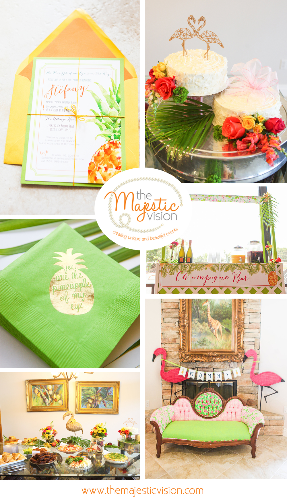 Tropical Baby Shower-The Majestic Vision