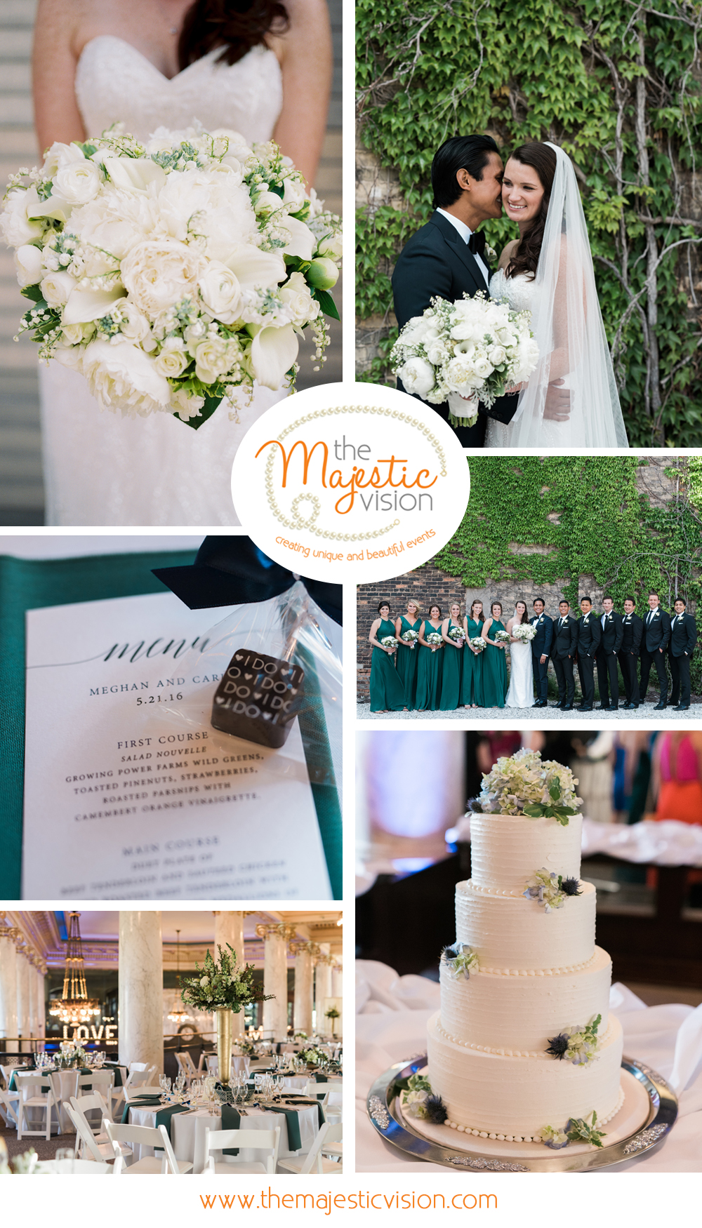 Milwaukee Historical Society Wedding-The Majestic Vision-Milwaukee Wedding Planner